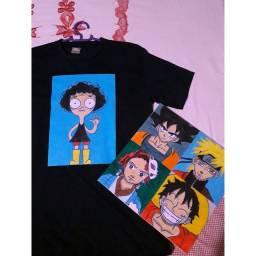 Vendo quadros e camisas personalizadas