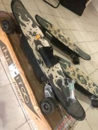 Skate elétrico com controle remoto sem fio