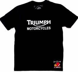 Camisetas Triumph Tiger Street Triple Bonneville Big Trail - Loja física em Curitiba