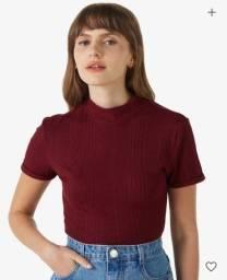 Blusa Canelada e Vestido (G)