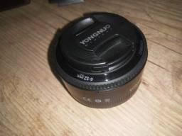 Vendo lente 50mm Yongnuo 1.8