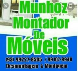 Desmontagem e instalação de moveis em geral