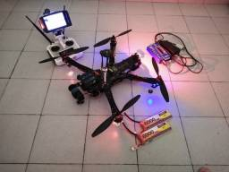 Drone TBS COMPLETO voando travado