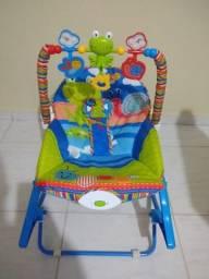 Cadeira de atividades musical e vibratória