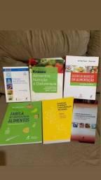 Coleção livros nutrição