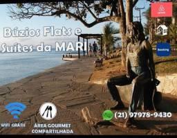 Flats e suites para aluguel temporada em Búzios