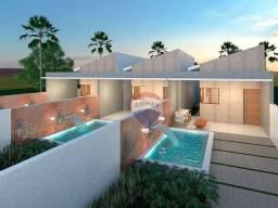 Casa com 2 dormitórios à venda, 73 m² por R$ 178.000,00 - Village Jacumã - Conde/PB