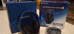 Headseat 7.1 - PS4 - Gold Wireless Stereo Headser