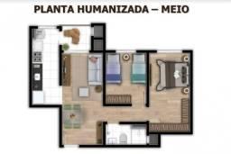 Rm. Apartamento 2 dormitórios, 54m2, com entrada parcelada em até 60x,