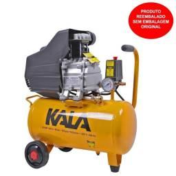 Compressor de Ar 20 Litros 1,5HP 6,6PCM Kala Reembalado<br><br>