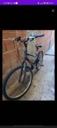 Bicicleta caloi terra 21v aro 26 semi nova