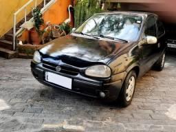 Título do anúncio: GM Corsa Wind 1.0 8v 1999 Preto  * Parcelo na Promissória *