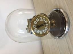 Relógio Cupula de vidro perfeito funcionamento
