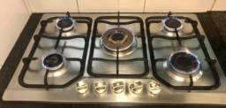 Título do anúncio: Cooktop Electrolux 5 bocas a gás tripla chama