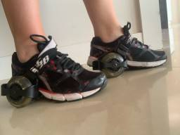 Par de Skanting Shoes