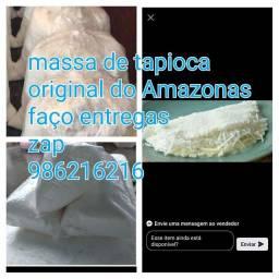 Massa de tapiocas do Amazonas