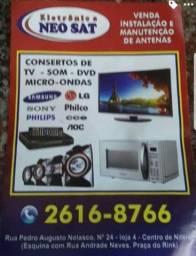 Conserto de TV - Microondas - Som