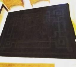 Promoção Tapete Realce Frame Cor Preto 1, 50 m x 2 m