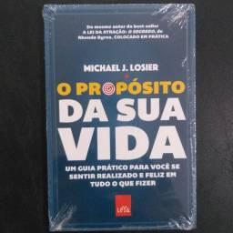 O propósito da sua vida - Livro NOVO no Plástico