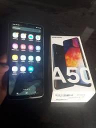 Vendo Samsung  A50 Bem conservado