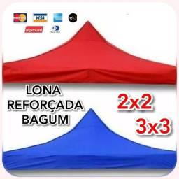 LONA REFORÇADA P/ TENDA 2X2 E 3X3 DE ALTA DURABILIDADE. ZAP *