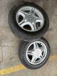 4 Rodas NOVAS pneus usados