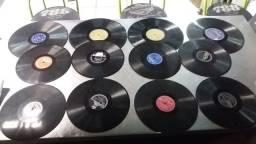 Discos de Vinil antigos 100 unidades