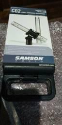 Kit microfones Samson C02 (par)