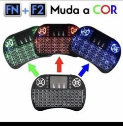Mini teclado iluminado- Bluetooth