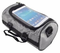Bolsa De Quadro Porta Celular Objetos Bicicleta Wolf Base<br><br><br>