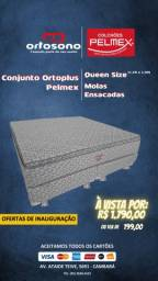 Cama Box Queen Size Molas Ensacadas