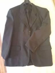 Paletó com calça e gravata (Excelente estado)