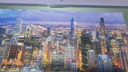Quebra cabeça 1.500 pçs - skyline de Chicago