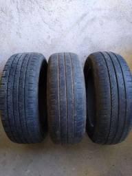3 pneus 16 195/60