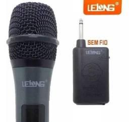Microfone sem fio lelong