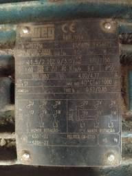 Motor Elétrico Trifásico 3 Cv 2 velocidades