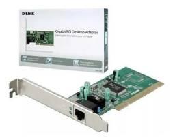Placa De Rede Pci Gigabit 10/100/1000mbps D-link