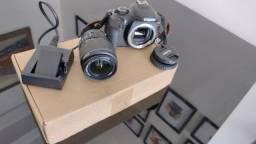 Câmera Dslr Eos Rebel T6 - Ótimo Estado
