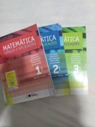 Ciência e aplicações, livro de matemática
