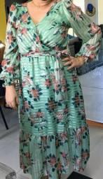 Vestido festa plus Size 47/48
