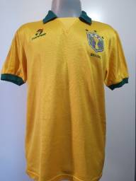 Camisa Seleção Brasileira Mauro Galvão 1990