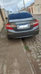 Honda Civic 2012, completo com banco de couro, IPVA 2021 pago já com a Mercosul