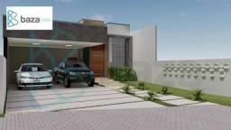 Casa com 3 suítes sendo 1 suíte à venda, 190 m² por R$ 890.000 - Residencial Aquarela Bras