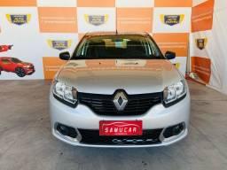 Renault Sandero 2018 1.0 3 cilindro - Excelente pra UBER