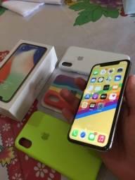 iPhone X sem marca de uso