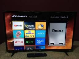 Smart TV AOC Roku LED 32 polegadas