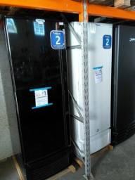 Freezer vertical 569L dupla ação -  preto ou branco