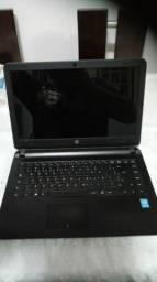 Notebook  HP  14-AP020<br><br>Tela de 14 polegadas<br><br>8 GB de Memória<br>