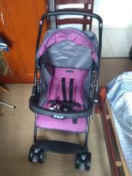 NOVO * Carrinho de bebê Burigotto Rio K Geo Rosa