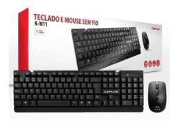 Kit Teclado + Mouse Sem Fio C3Plus Pc Notebook Abnt2- Loja Natan Abreu